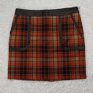 Outback Red Skirts - Outback Red Plaid Skirt